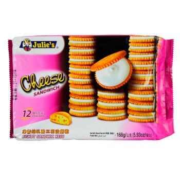 【Julies】茱蒂絲乳酪三明治餅乾(168gx12包/組)