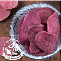 愛上新鮮-天然紫薯脆片*4包