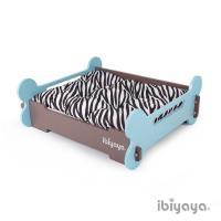 IBIYAYA依比呀呀 寵物傢俱系列-寵物骨頭床-M-綠咖(FF1206)