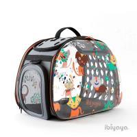 IBIYAYA依比呀呀 透明膠囊寵物提包-DOG/CAT(FC1220)