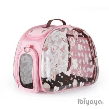 IBIYAYA依比呀呀 透明膠囊寵物提包-杯子蛋糕(FC1220)