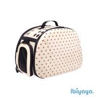 【IBIYAYA依比呀呀】輕巧摺疊寵物提包-米點點(FC1007)
