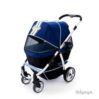 【IBIYAYA依比呀呀】IBBI頭等艙寵物推車-藍(FS1202)