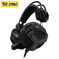 T.C.STAR 電競玩家頭戴式耳機麥克風 TCE9030BK