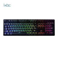 ikbc 時光機 F108 RGB/PBT/英刻/青軸 電競機械鍵盤