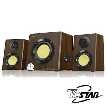 T.C.STAR 三件式2.1聲道多媒體USB喇叭 TCS4100U