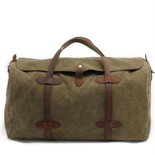 【米蘭精品】手提包帆布側背包大容量旅行休閒時尚5色73nd45