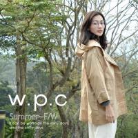 w.p.c.時尚雨衣/風衣 寬版七分袖R1017-卡其