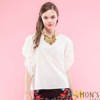 MONS法式名媛柔感造型上衣