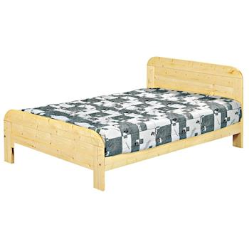 【AB】松木實木5尺雙人床架(不含床墊)