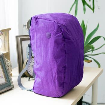 【COUNT DUCK】美系悠活輕量雙肩後背包-CD-027-紫色