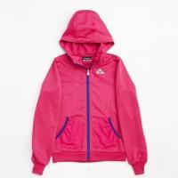 KAPPA義大利 女吸濕排汗速乾針織外套~櫻桃紅FC42-C305-1