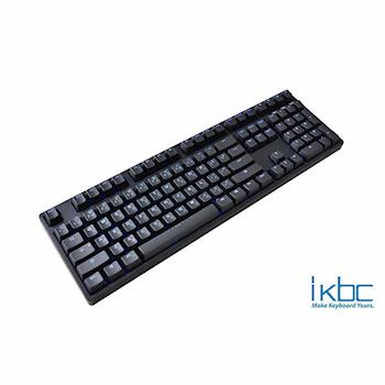 ikbc TD108/PBT/藍色背光 機械式鍵盤 (銀軸/靜音紅軸)