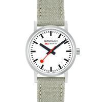 MONDAINE 瑞士國鐵Classic限量腕錶-30mm/ 霧銀 65816BG