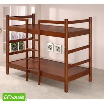 《DFhouse》凱恩三尺實木雙層床-單人床 雙人床 床架 床組 實木