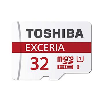 TOSHIBA 32GB EXCERIA microSDHC UHS-I 90M/s記憶卡