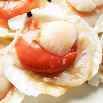 【幸福小胖】北海道特級帆立貝 (500克/5~6顆/包) 1包
