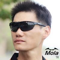 MOLA SPORTS 摩拉運動太陽眼鏡 頂級抗磨鏡片 超輕量 自行車 跑步 棒球 TR-blg