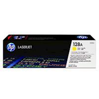 HP 128A 原廠黃色碳粉匣 CE322A