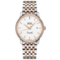 MIDO美度Baroncelli III Heritage復刻機械錶 銀x雙色 39mm M0274072201000