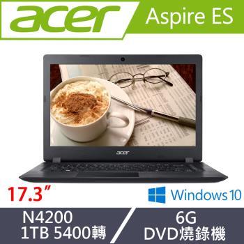 Acer宏碁 Aspire ES 文書筆電 ES1-732-P15K 17.3吋/N4200/6G/1T