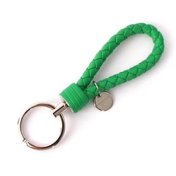 BOTTEGA VENETA 小羊皮 key圈(竹子綠) 113539 V001D 3704