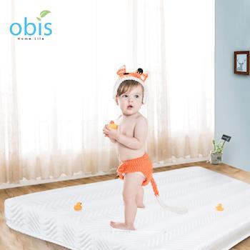 床墊/嬰兒床墊-60*120【obis】Perez-天絲無毒乳膠獨立筒床墊/嬰兒床墊60*120cm-寵愛寶貝系列