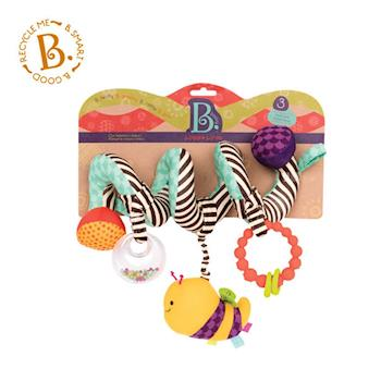 【美國 B.Toys 感統玩具】蜜蜂團團轉(推車掛飾) BX1454Z