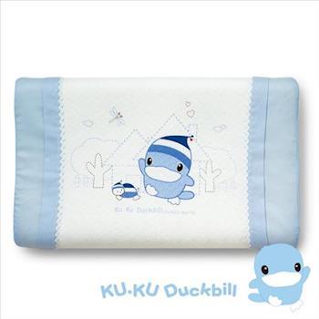 [KU.KU酷咕鴨]涼感兒童枕(2色可選)