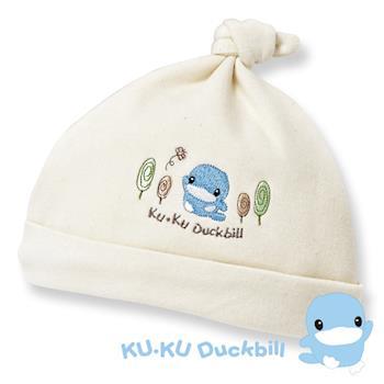 任-[KU.KU酷咕鴨]有機純棉嬰兒帽(2196)