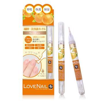 LOVE NAIL 日本3效合1美容液護甲油(柑橙果云香)