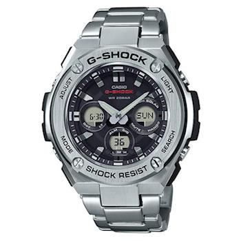 【CASIO】G-SHOCK 創新突破分層防護完美悍將休閒錶 (GST-S310D-1A)