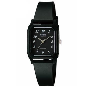 【CASIO】 輕便巧小運動指針錶-黑面x黑 (LQ-142-1B)