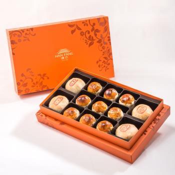 漢坊 御藏禮盒-2盒組(純綠豆椪+蛋黃酥 綜合13入)