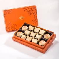 漢坊 御藏禮盒-2盒組(純綠豆椪+土鳳梨酥 綜合13入)