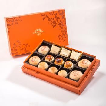 漢坊 御藏禮盒-2盒組(綠豆椪+蛋黃酥 綜合13入)