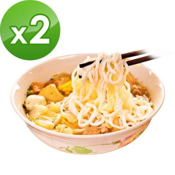 樂活e棧-白木耳水降卡火鍋+蒟蒻麵-燕麥拉麵+醬(任選)(1人份/組,共2組)