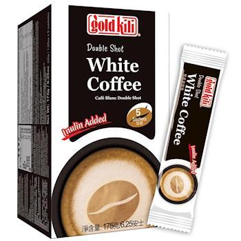 金麒麟 gold kili 特濃白咖啡 (盒裝-35公克-5包)