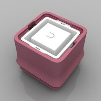 POLAR ICE 極地冰盒方竹系列-正方形冰 - 粉色