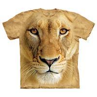 摩達客 美國進口The Mountain Smithsonian系列母獅特寫 純棉環保短袖T恤(預購)