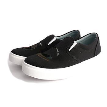 CHIARA FERRAGNI 布面鏤空眨眼睛厚底鞋(黑色) CF869