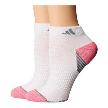 Adidas 2017女Superlite低切白粉色色塊短襪2入組(預購)