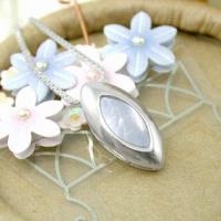 伊飾炫銀 凐藍新葉 純銀項鍊