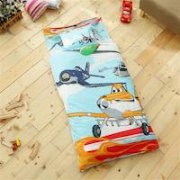 HO KANG 幼教兒童睡袋 冬夏鋪棉兩用-飛機總動員