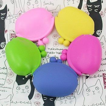 iSPurple糖果色調 矽膠零錢包 五色可選