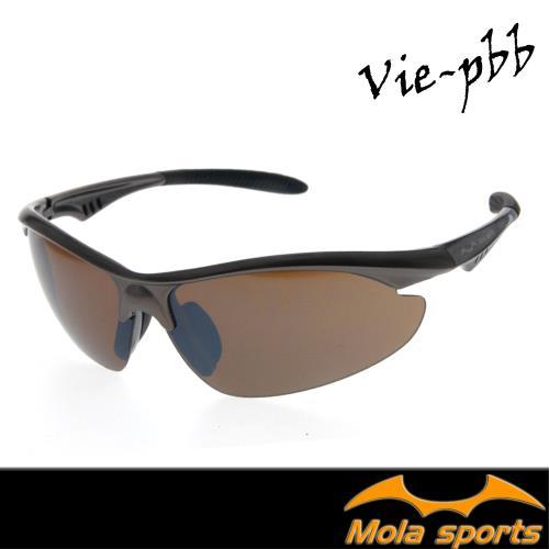 MOLA SPORTS 摩拉運動太陽眼鏡 一般臉型 自行車 高爾夫 跑步 棒球 Vie-pbb