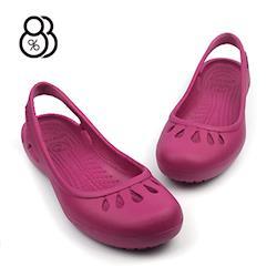 88% 晴雨沙灘出國旅行超輕防水涼爽超軟透氣輕便耐磨洞洞鞋雨鞋涼鞋-網