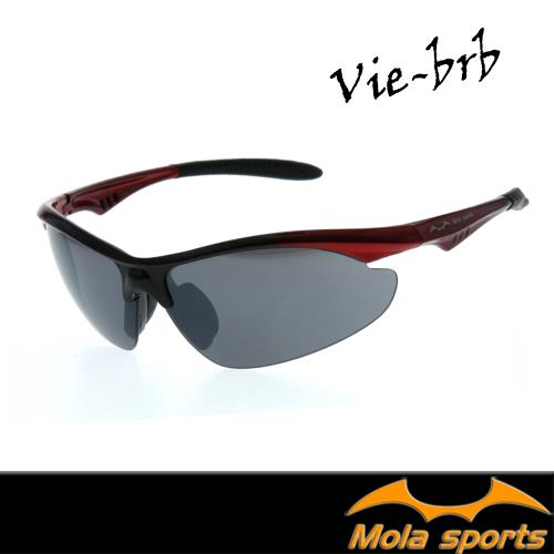 MOLA SPORTS 摩拉運動太陽眼鏡 一般臉型 男女可戴 Vie-brb