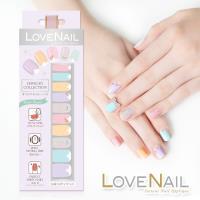 【LOVE NAIL】持久指甲油貼-水鑽珠寶盒系列(繚漾甜心冰鑽)