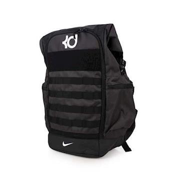 NIKE KD NK TREY 籃球後背包-雙肩包 黑白